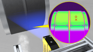 Automatic Inspection Smart Sensor Offers True 3D Image Evaluation