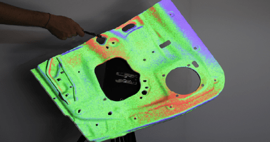 New 3D Scanner Projects Highest Resolution Part Deviations
