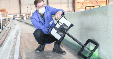 High-Precision Surface Inspection of Wind Turbine Blades