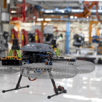 Drones In The Factory Of The Future