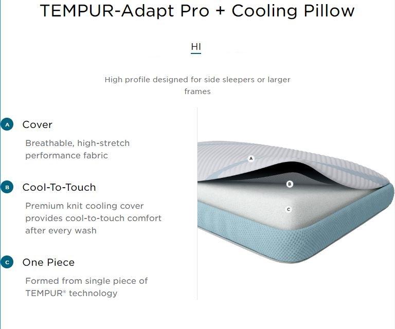 buy tempur pedic tempur adapt pro hi