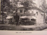 C.H. Kennedy House on Broadway, 1927