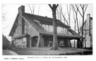 J.H. Fitch Jr. House, Indiana Avenue, 1915. By Charles F. Owsley