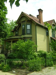 Late 19th-century home in Ann Arbor, Mich.