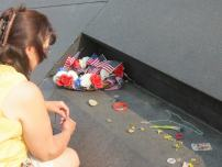 At the Flight 93 National Memorial in Stoystown, Pa. Courtesy of Jackie Slaviero.