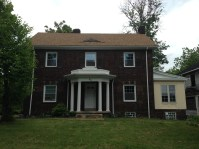 Wick Park colonial in late summer