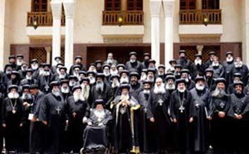 قرار المجمع المقدس بخصوص جورج حبيب بباوي