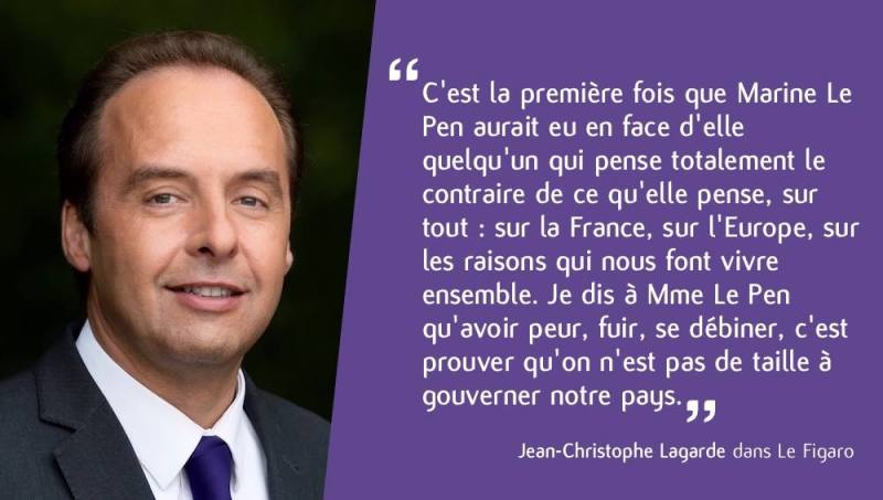 Jean Christophe Lagarde - Le Pen