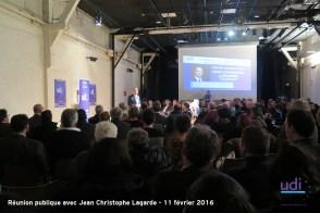 Réunion publique JC LAGARDE - Fédération UDI Métropole de Lyon 10