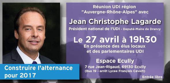 Réunion UDI avec JC Lagarde Fédération UDI métropole de Lyon