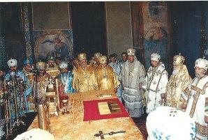 Liturgie la Kiev -Patriarhul Volodimyr