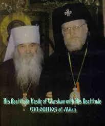 Incontro con Metropolita Vasiliy Primate della Chiesa Autocefale Polacca