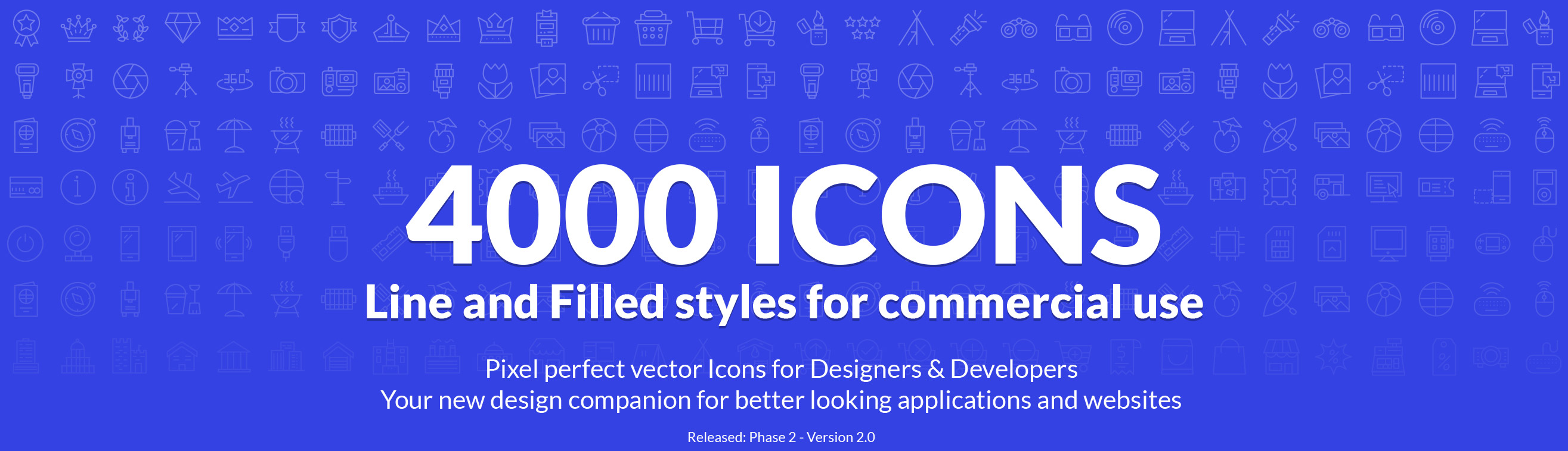 line and glyph icons