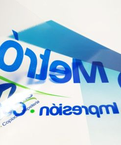 ploteo vinil adhesivo transparente full color