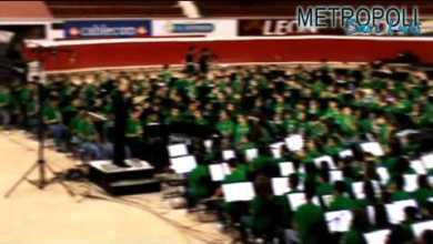 Photo of Banda sinfónica monumental se presentó en San Luis Potosi
