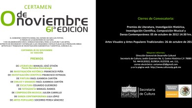 Photo of 61ª edición del Certamen 20 de Noviembre