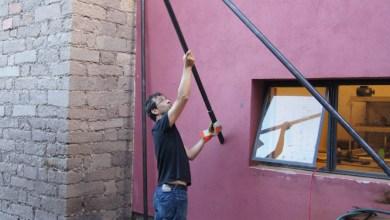 Photo of Momentos sociales construye el artista español Jaime de la Jara en SLP