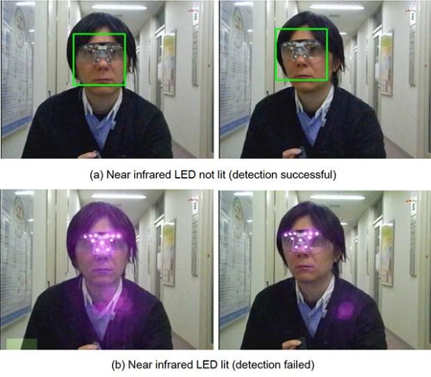 gafas anti reconocimiento facial