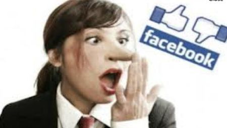 facebook mentir