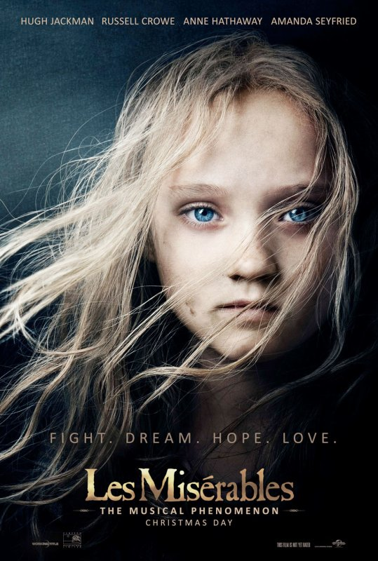 los miserables poster