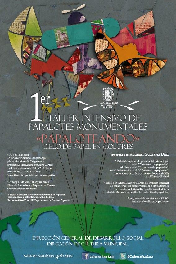 1 er Taller Intensivo de Papalotes Monumentales