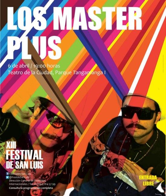 Los Master Plus  en el XIII FEstival de San Luis