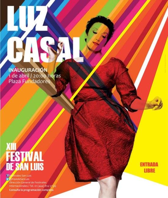 Luz Casal en el XIII FEstival de San Luis