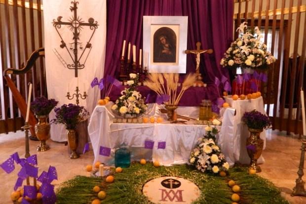 altar dolores museo francisco cossio