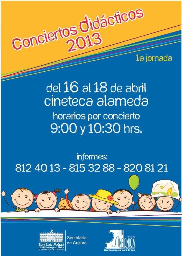 conciertos didacticos 2013 osslp