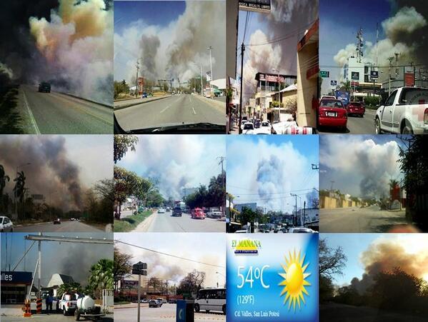 incendios en valles