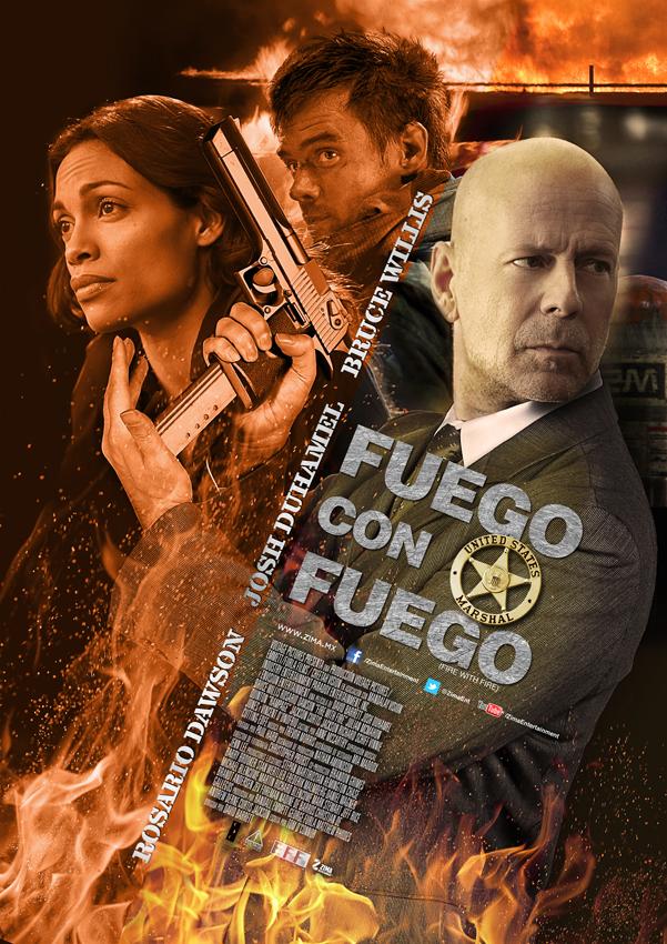 Poster Fuego con Fuego_B