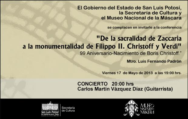 concierto museo de la mascara