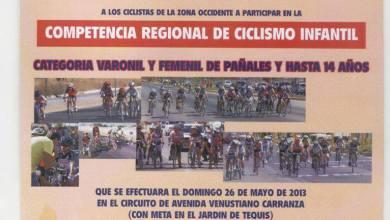 Photo of Competencia Regional de Ciclismo Infantil