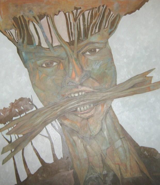 ARBOLES SOBRE MI CABEZA, Oleo de Rafael Gerardo