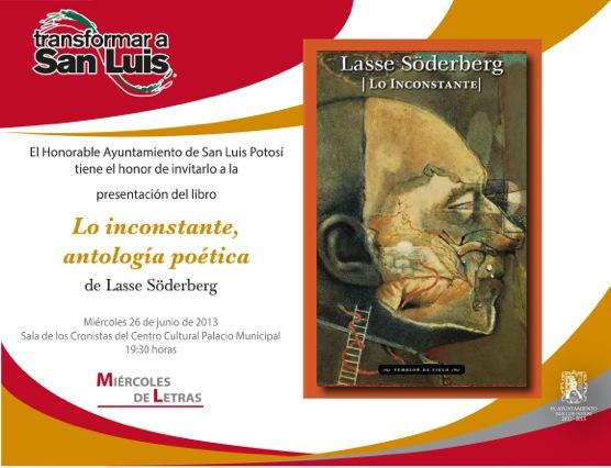 Invitación Lasse Söderberg