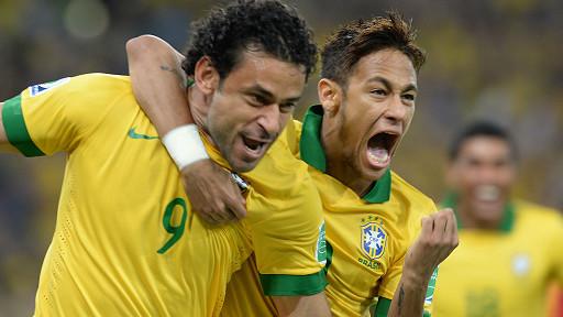 brasil gana confederaciones