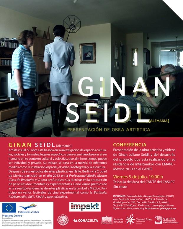 Ginan Seidl conferencia mail
