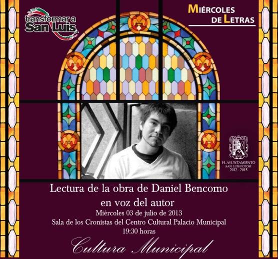 Invitación Daniel Bencomo
