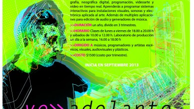 Photo of Diplomado en ar(te) y tecnología del CANTE
