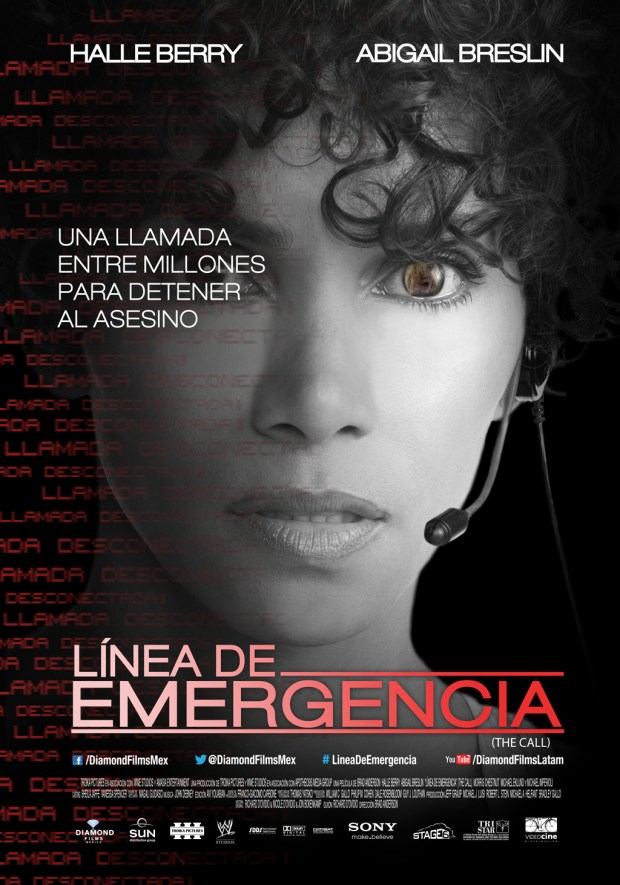 linea de emergencia poster