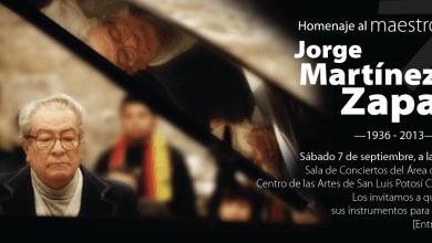 Photo of Fallece el maestro Jorge Martínez Zapata