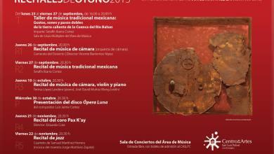 Photo of Inicia temporada de recitales de otoño en el Centro de las Artes