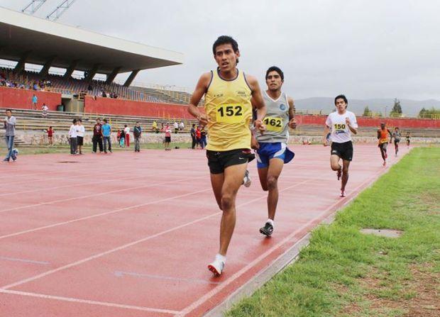carrera atlética milla