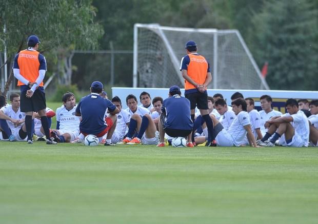 Atlético San Luis entrenamiento 2