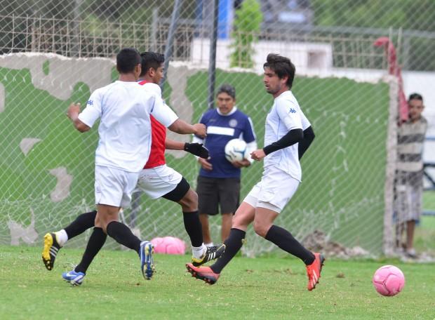 Atlético San Luis entrenamiento