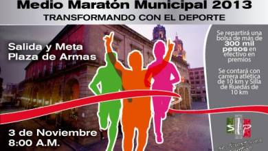 Photo of Abren inscripciones al Medio Maratón Municipal 2013