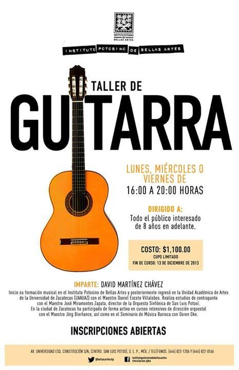 taller de guitarra ipba