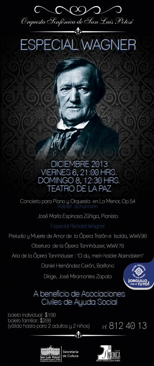 flyer especial de Wagner