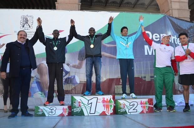 ganadores medio maraton mpal