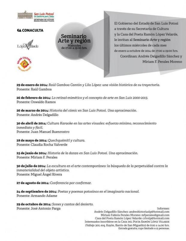 Seminario Arte y Región